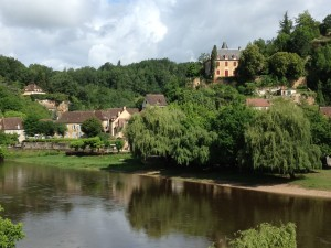 Village of Limeuil on the banks of the Dordogne River